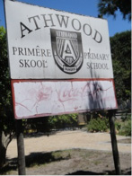 The sign may be fading, but the spirit of Athwood is strong!
