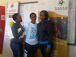 Sharing information at SASSA Gugulethu