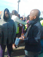 Gugulethu - Nyanga Catholic Welfare Development Crisis Relief Day June 2014