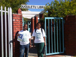 Registration Gugulethu Library May 2014