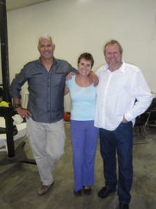 Mike Carelse, Tania Bownes and Andre Steyn